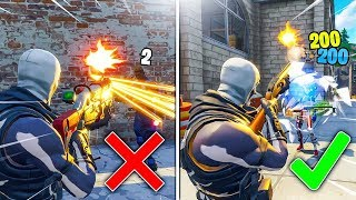 HOW TO IMPROVE AIM in FORTNITE! HOW TO GET 100% ACCURACY TIPS! BEST SENSITIVITY SETTINGS FORTNITE