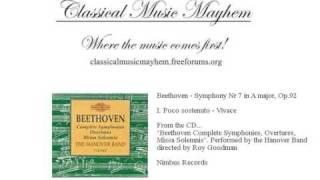 Beethoven Symphony No 7, Poco sostenuto Vivace