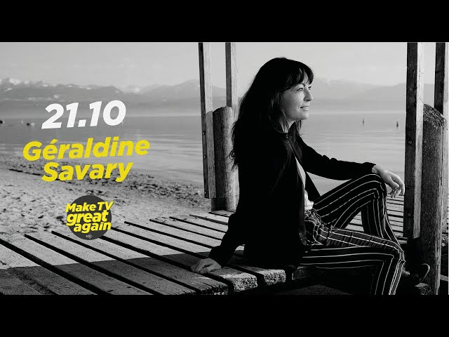 Make Tv Great Again S1 E8 - Tonight Géraldine Savary