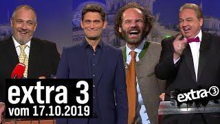 Extra 3 vom 17.10.2019