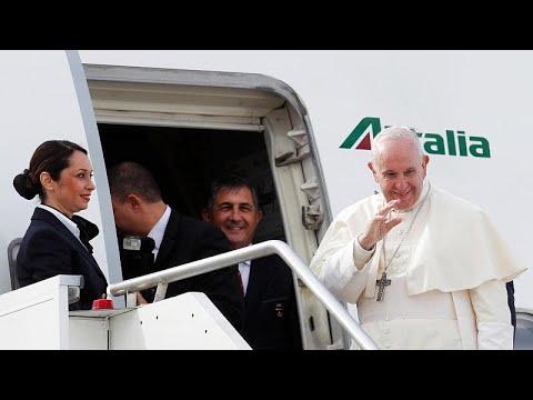 البابا يطالب أطراف النزاع اليمني باحترام الهدنة قبيل سفره إلى الإمارات…
