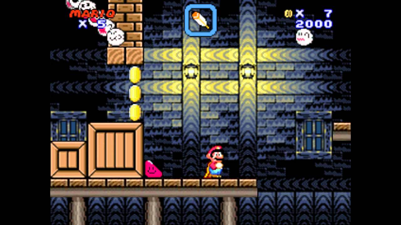 Super Mario Flash 2 - Level 6 (Ghost House)