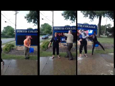 Fortis College Cuyahoga Falls ALS Ice Bucket Challenge