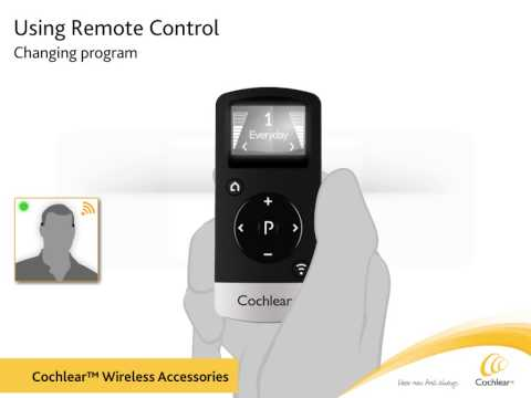 User guide Cochlear™ Baha® Remote Control