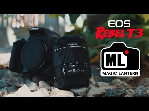 Using a Canon T3/1100D in 2019 | Tutorial - How to Install Magic Lantern