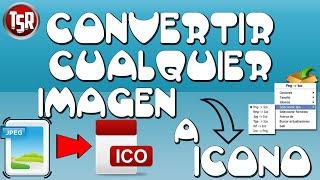 Convertir Imágenes A Icono | Dos Métodos | JPG A ICO | Fácil & Rápido