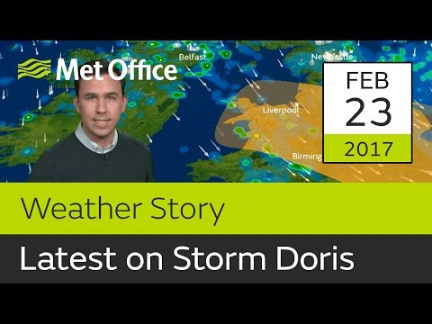 Latest on Storm Doris