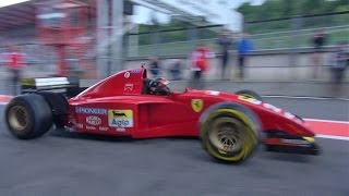 BEST Ferrari F1 V12 Ever?!? Ferrari 412 T2 - Screaming Sounds!