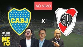 Boca Juniors x River Plate | AO VIVO | Rádio Craque Neto - Libertadores 2019
