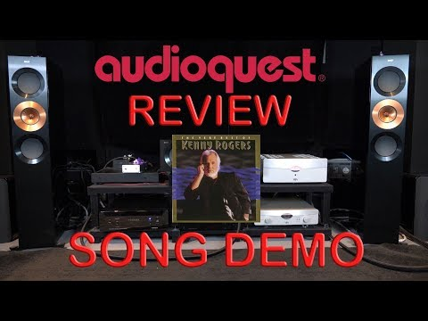 Audioquest Niagara 7000 Review + YBA Passion Song Demo Kenny Rogers HiFi Power Cable