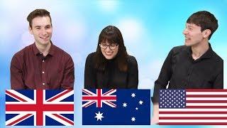 영국/호주/미국 문화 차이 2편