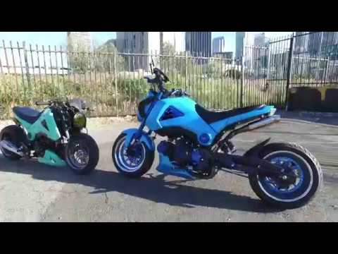 Santa Monica Honda >> Thumper Ride 2017 Honda Grom - YouTube