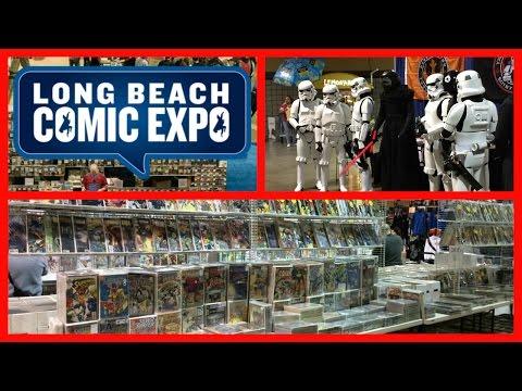 Long Beach Comic Expo 2016 Walkthrough Tour - Comic Book Convention