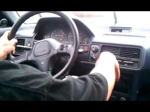1991 acura integra ls - YouTube