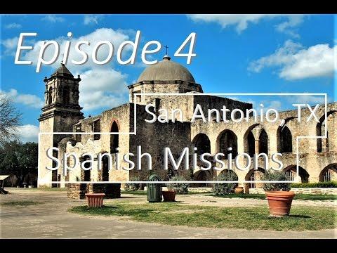 EPISODE 4 - San Antonio, Spanish Missions - Motorbike Explorer