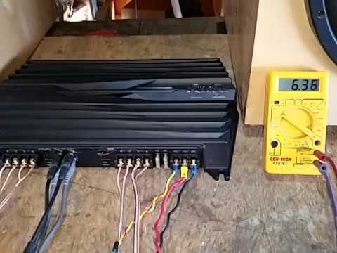 hqdefault 6 volt power amplifier 4 ch 100 watts ch youtube sony xm-gtx6040 wiring diagram at creativeand.co