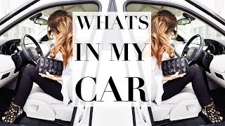 WHAT'S IN MY CAR? | Buying my dream car, Car Haul & Car Tour | Lydia Elise Millen