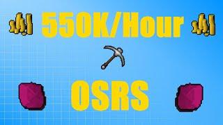 Mining 550K/Hour Money Making Guide #49 Oldschool Runescape 2007 (OSRS)