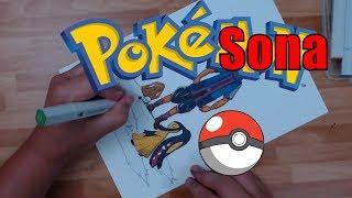 AJ Let ' s Create! Meine POKE-SONA - Meine Lieblings-Pokemon aus jeder generation...