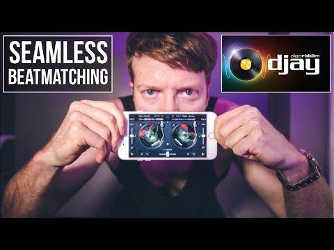 SEAMLESS BEATMATCHING And MIXING On DJAY 2  By ALGORIDDIM
