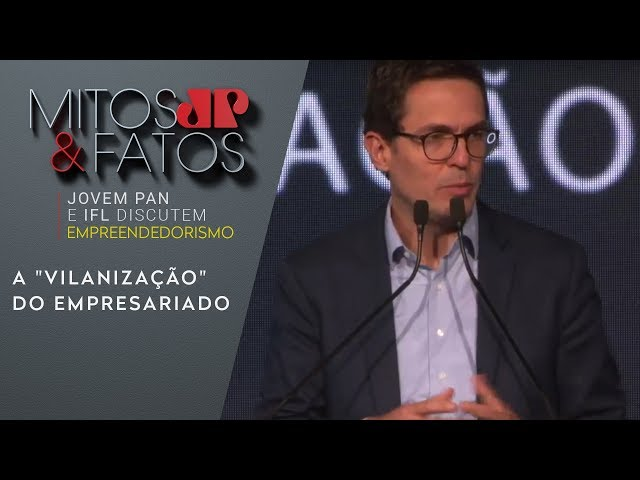 """Eduardo Mufarej critica a """"vilanização"""" do empresariado"""