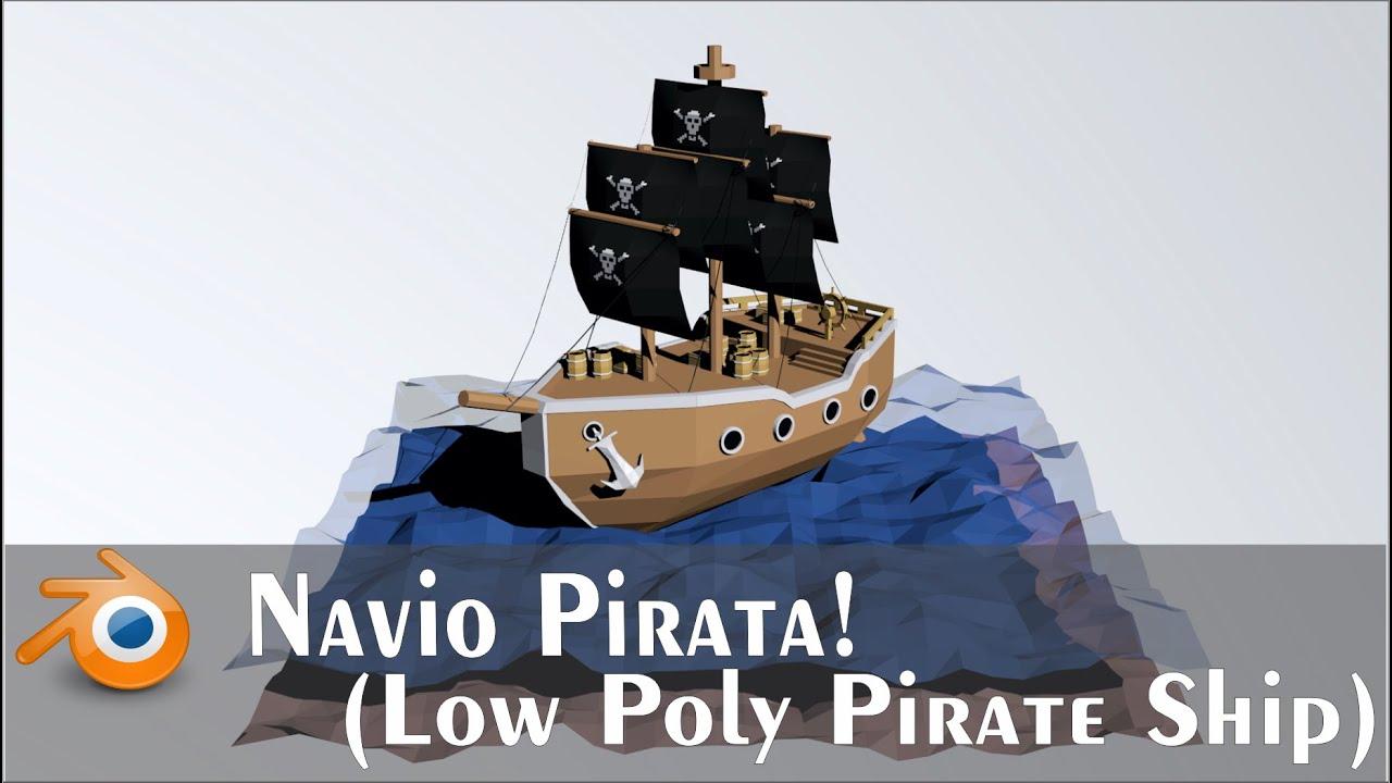 Resultado de imagen para low poly pirate