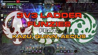 3v3 Ladder Series #1 - Feat. Kazu, Quinn & Aecius - Dragon Nest