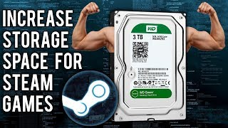 How to Increase Hard Drive Storage for Steam Games - (Spanned Volumes)