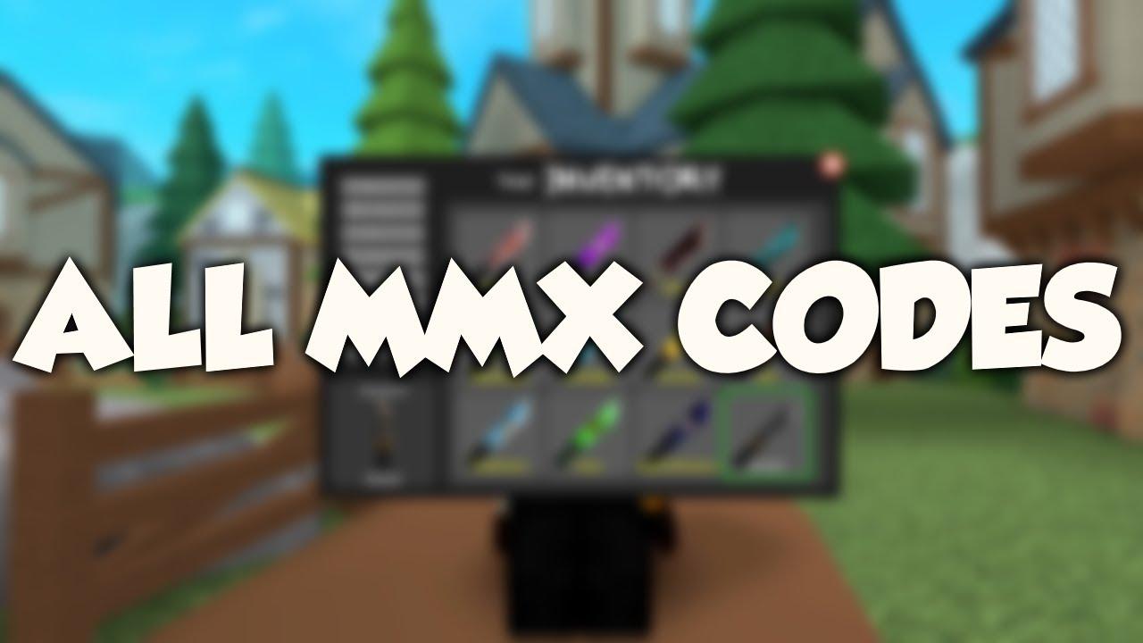 Mmx Codes All Codes On Murder Mystery X By Glitch