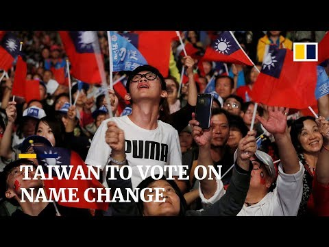 Taiwan to vote on name change for 2020 Summer Olympics