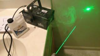 Chauvet Hurricane 700 Fog Machine Review Laser Footage