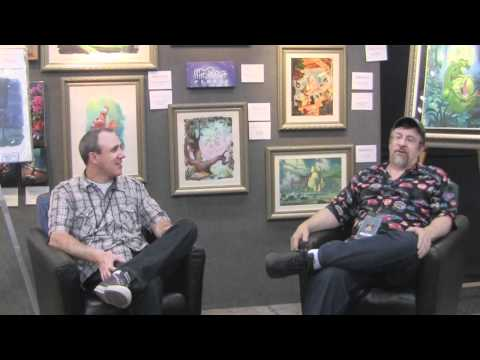 Little Mermaid art director and Disney concept artist Mike Peraza Interview