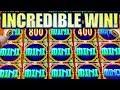 ★INCREDIBLE WIN! HUGE BIG WIN!★ WINNER WINNER, FISH DINNER! GOLDEN CHARMS Slot Machine (SG)