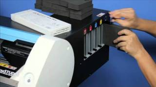 Керівництво Роланд ДГ в VersaSTUDIO БН-20 - #4 Встановлення чорнильних картриджів