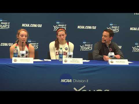 Carson-Newman Women's Basketball: Elite Eight Postgame Press Conference 3-19-18