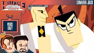 HellfireComms Patreon TV Comms [#12: Samurai Jack, Episodes 1-3] (AUDIO COMMENTARY)