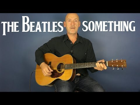 Something  - The Beatles - Guitar lesson by Joe Murphy