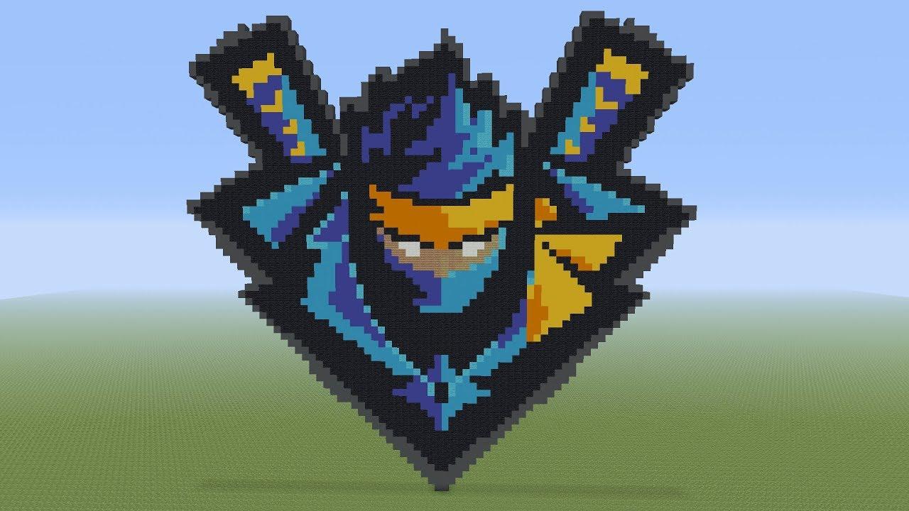 Pixel Art Ninjas Logo Tutorial The Streamer Pixelarttutorials