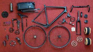 The Ultimate Gravel Bike Build - OPEN U.P.P.E.R. + Hunt, SRAM, KS, Easton, WTB, Fabric, ethirteen