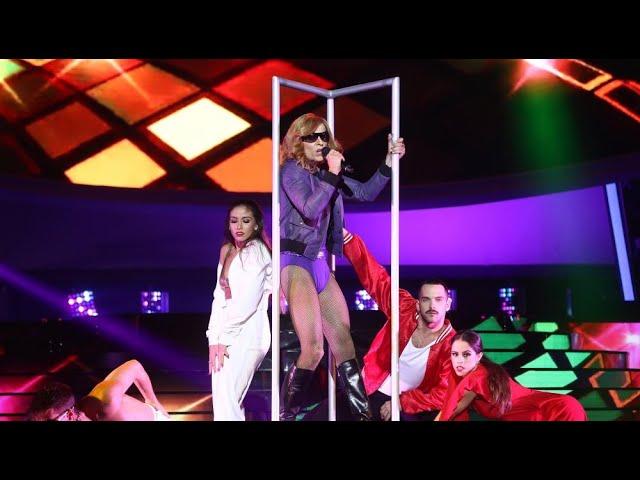 Jordi Coll imita a Madonna en 'Hung up' - Tu Cara Me Suena