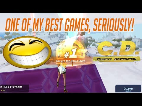 ONE OF MY BEST GAMES EVER! **NEW TRAP** (Creative Destruction)