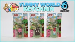 Yummy World Keychains By Kidrobot!