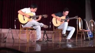 [Viet-Guitar Offline 18] Tuấn Khang & Hùng Phong plays Czadas by Monti