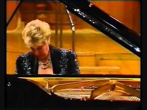 Maria Tipo plays Mozart Piano Concerto K 595 (Mov I)