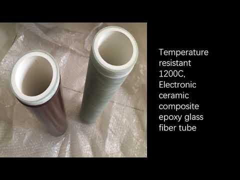 how much filament wound fiberglass tubing ?HIGH temp HV fiberglass epoxy composites tube