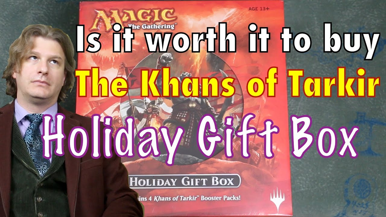 MTG - Is it worth it to buy the Khans of Tarkir Holiday Gift Box ...