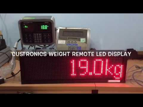 Weight Extend Display Avery Weigh Tronix ZM305