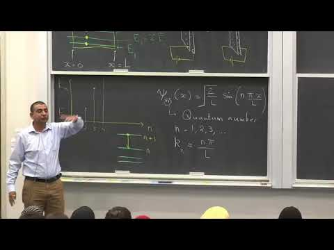 Modern Physics in the Modern Times (2018) - Lecture 14A Excited state wave function of a particle...