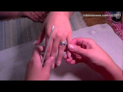 HowTo File Perfectly Shaped Nails - Acrylic Nail Filing Tutorial