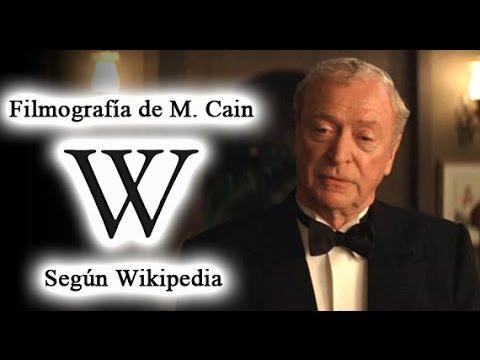 Filmografía de Michael Caine según Wikipedia